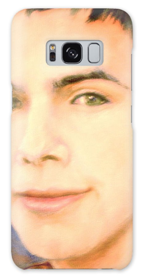 David Archuleta Galaxy S8 Case featuring the painting David Archuleta by Leland Castro