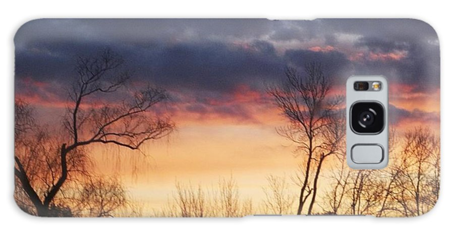 Dawn Galaxy S8 Case featuring the photograph Dawn In The Catskills by Ellen Levinson