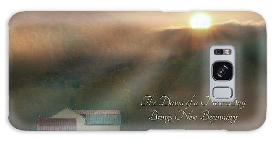 Barn Galaxy S8 Case featuring the photograph Dawn by Lori Deiter