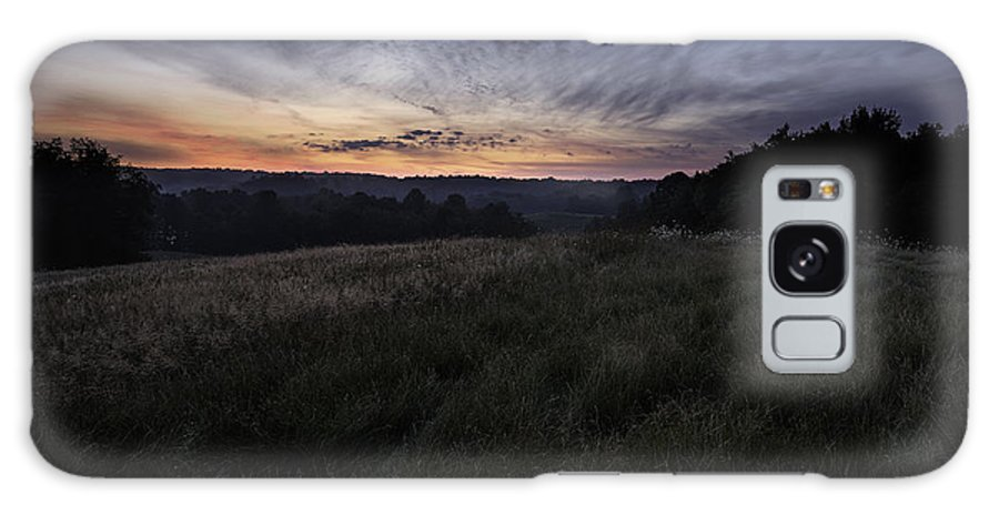 Dawn Galaxy S8 Case featuring the photograph Dawn Over The Hills by Dale Kincaid