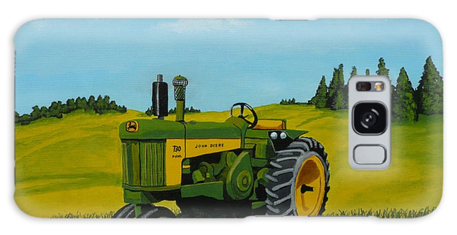 John Deere Galaxy Case featuring the painting Dear John by Anthony Dunphy