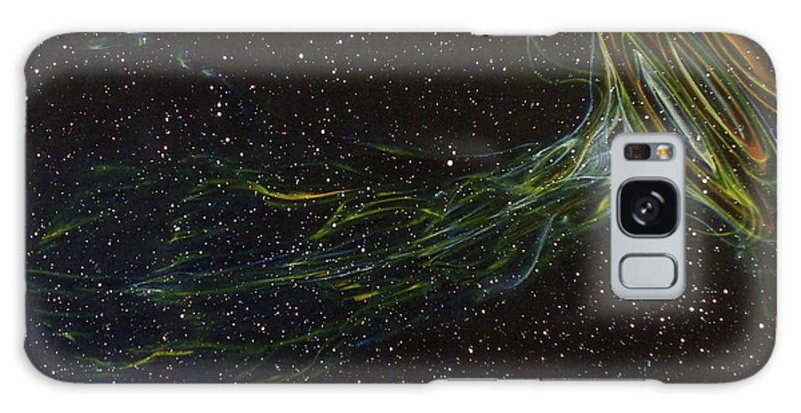 Abstract Galaxy Case featuring the painting Death Throes by Sean Connolly