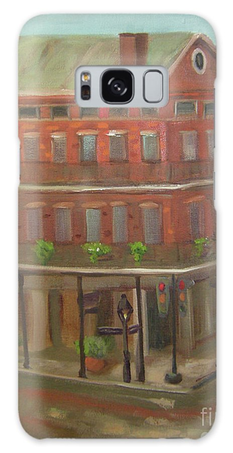 New Orleans Galaxy S8 Case featuring the painting Decatur by Lilibeth Andre