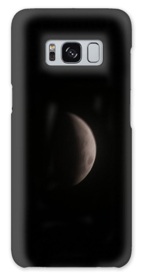 Moon Galaxy S8 Case featuring the photograph December Moon by Jacqueline Russell