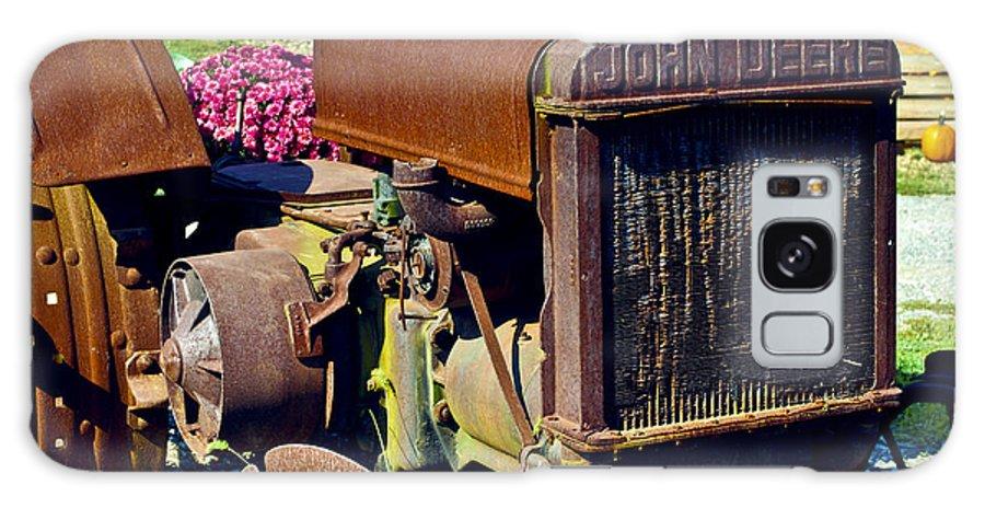 John Deere Galaxy S8 Case featuring the photograph Deere Memories by Patrick Meek