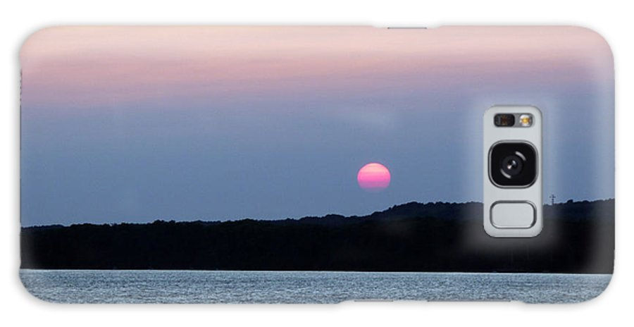 Sun Galaxy Case featuring the photograph Delta Lake Sunset by Rennae Christman
