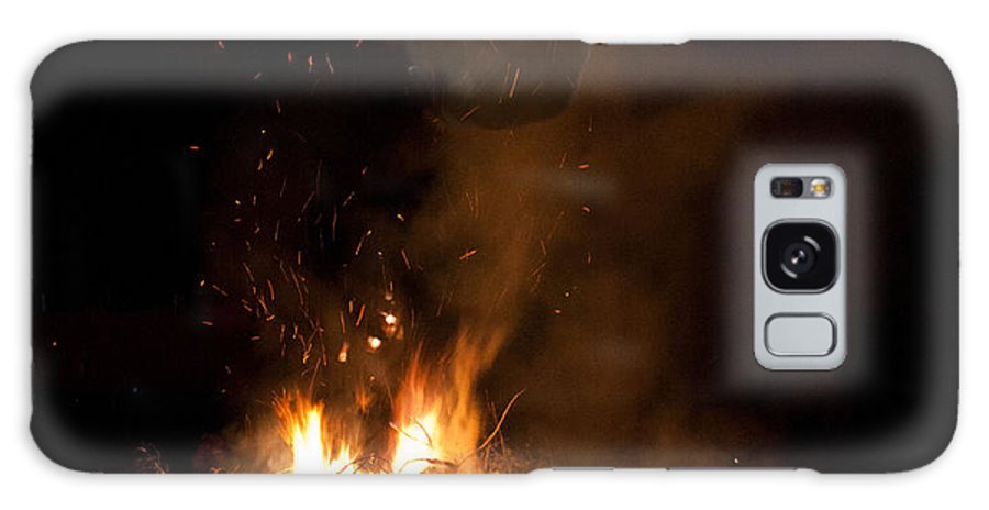 Halloween Galaxy S8 Case featuring the photograph Demon Rising by Claus Siebenhaar