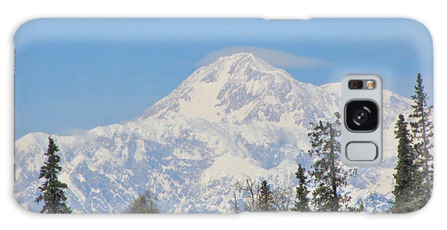 Alaska Galaxy S8 Case featuring the photograph Denali by Larry Marano