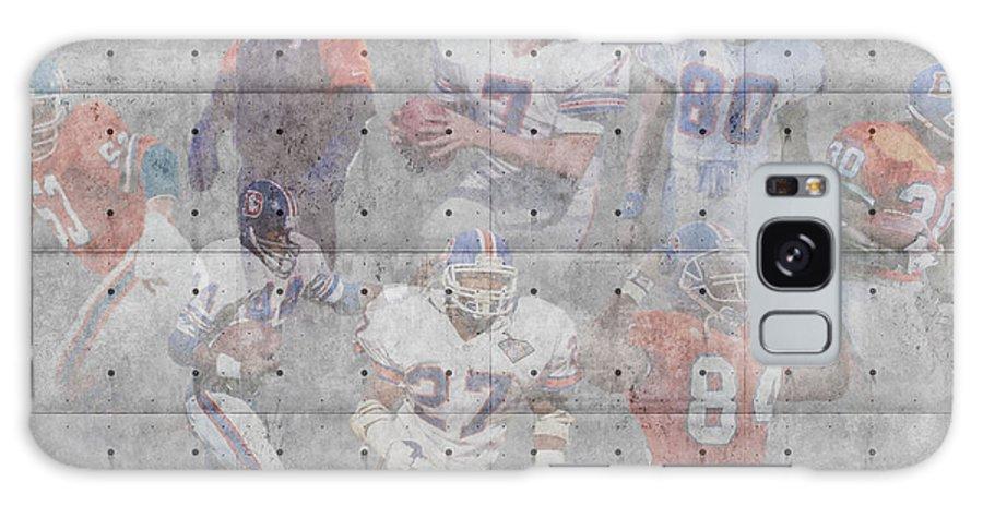 Broncos Galaxy S8 Case featuring the photograph Denver Broncos Legends by Joe Hamilton