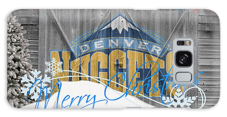 Nuggets Galaxy S8 Case featuring the photograph Denver Nuggets by Joe Hamilton