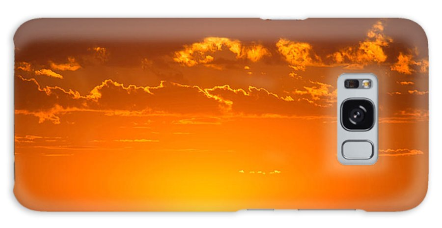 Denver Galaxy S8 Case featuring the photograph Denver Sunrise by Rick Machle
