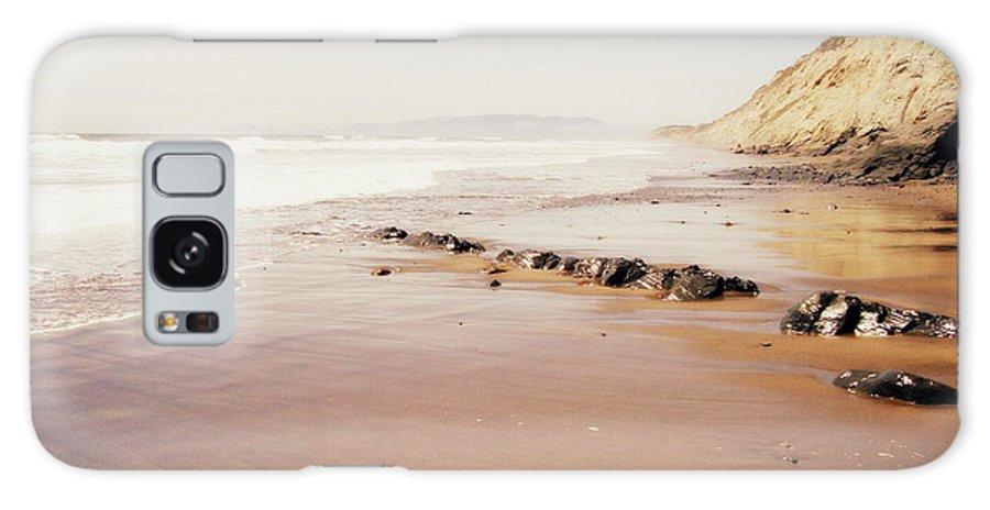 Ocean Galaxy S8 Case featuring the photograph Desert Beach by Irina Davis