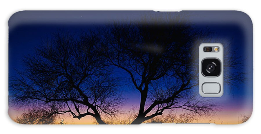 Outdoor Galaxy S8 Case featuring the photograph Desert Silhouette by Chad Dutson