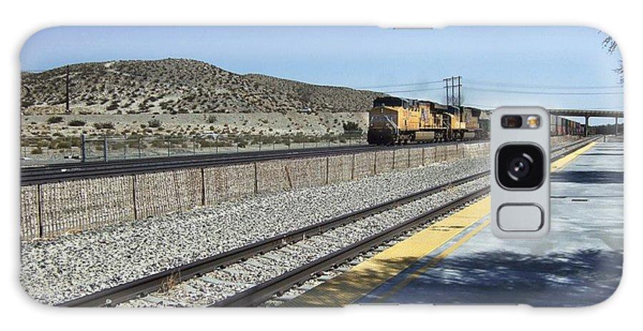 California Galaxy S8 Case featuring the photograph Desert Train by Steve Ondrus