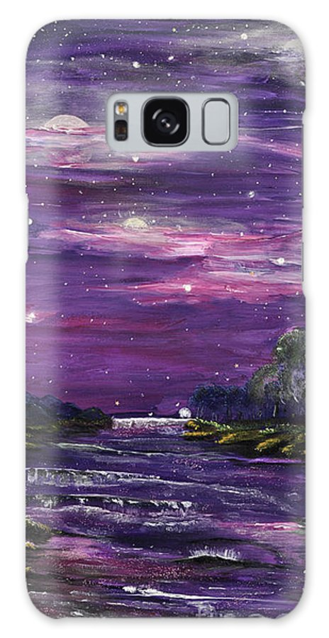 Searching For The Meaning Of Life Galaxy S8 Case featuring the painting Destination by Regina Wirsich Roberts