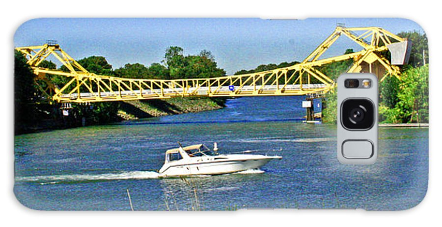 Sacramento River Delta Galaxy S8 Case featuring the photograph Destination Sacramento by Joseph Coulombe