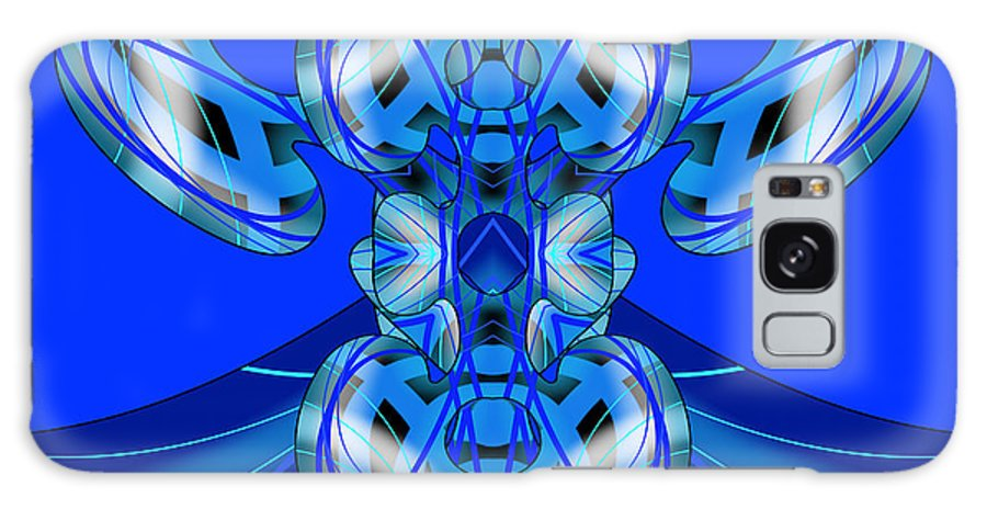 Abstract Galaxy S8 Case featuring the digital art Details 5 by Brian Johnson