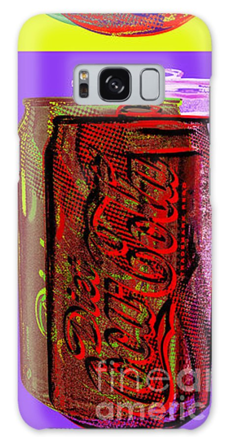 Coke Galaxy Case featuring the digital art Diet Coke - Coca Cola by Jean luc Comperat