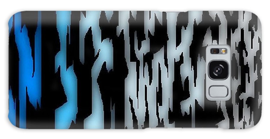 Patterns Galaxy S8 Case featuring the digital art Digital Zebra Coat by John Malone