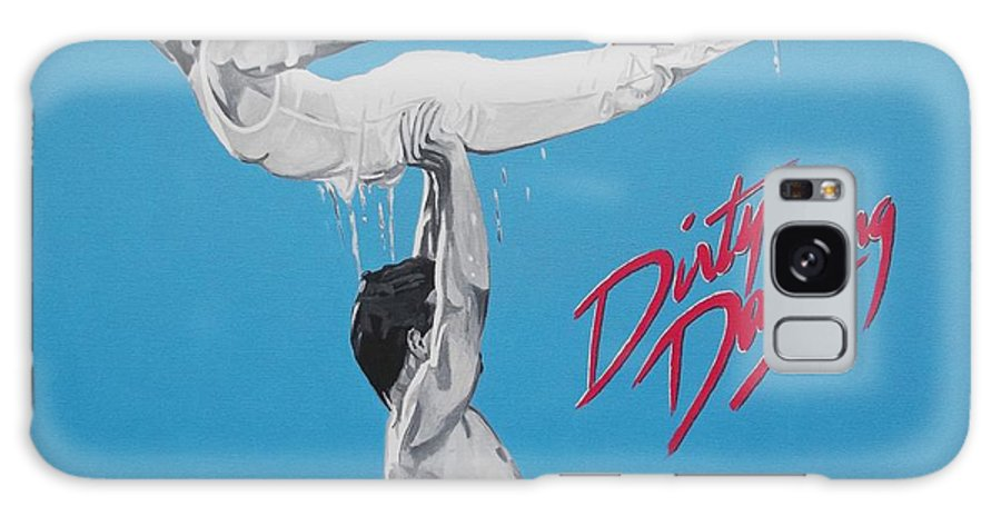 Dirty Dancing Galaxy S8 Case featuring the painting Dirty Dancing The Lift by Patrick Killian