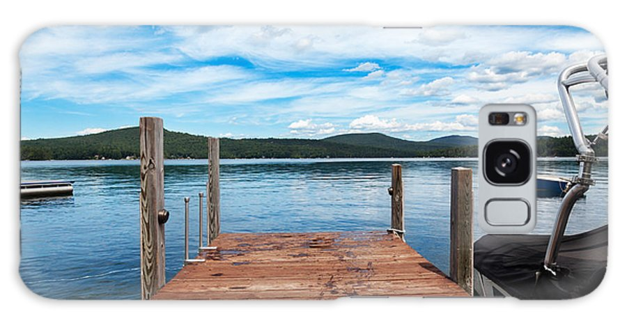 Lake Galaxy S8 Case featuring the photograph Dock On Summer Lake by Jo Ann Snover