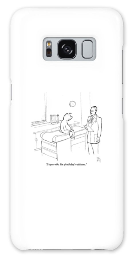 Pigs Galaxy Case featuring the drawing Doctor To Pig by Paul Noth