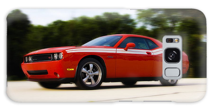 Dodge Galaxy S8 Case featuring the photograph Dodge Challenger by Bill Cannon