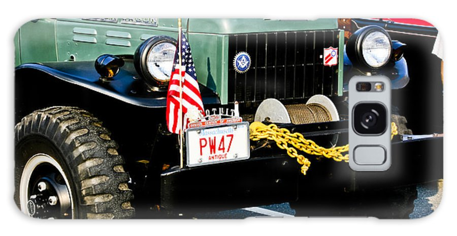 Transportation Galaxy S8 Case featuring the photograph Dodge Power Wagon Front End by Dennis Coates