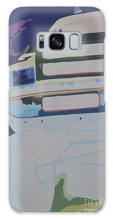 Dodge Galaxy S8 Case featuring the painting Dodge Ram Negative by Paul Kuras
