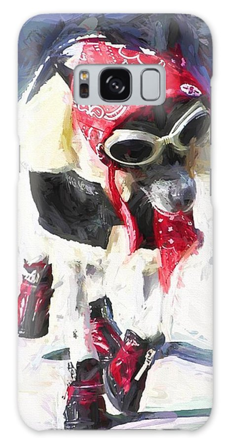 Dog Galaxy S8 Case featuring the photograph Dog Daze 8 by Shannon Story