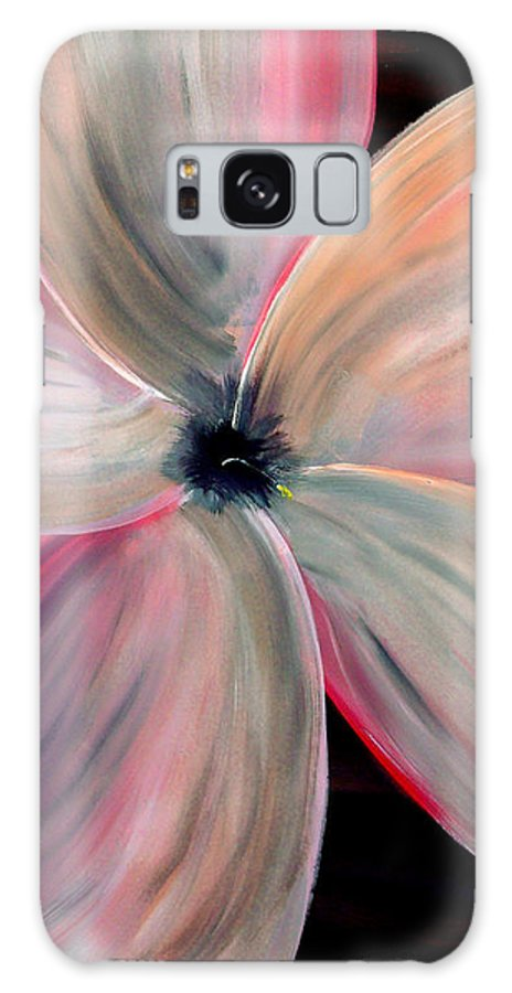 Mark Galaxy S8 Case featuring the painting Dogwood Bloom by Mark Moore