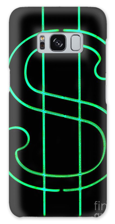 Galaxy S8 Case featuring the photograph Dollar Sign by Kelly Awad