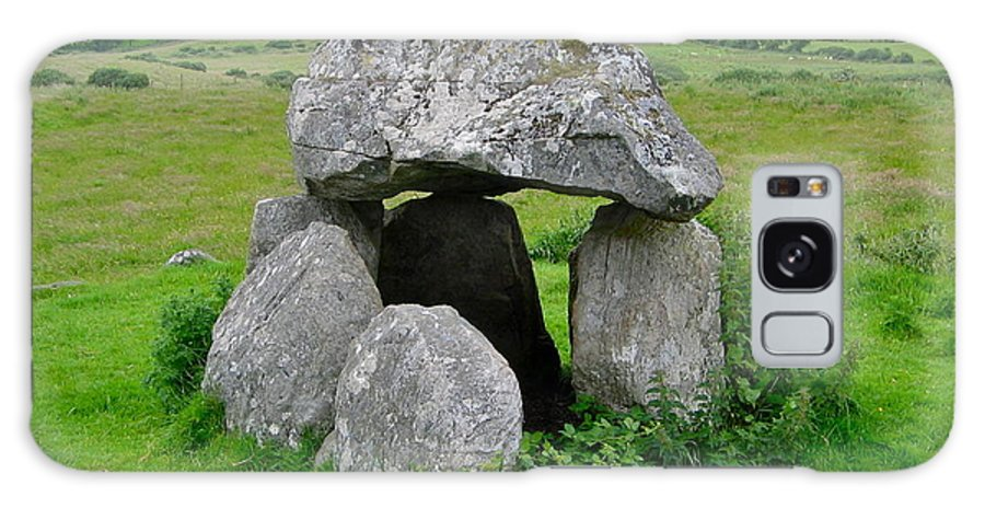 Carrowmore Galaxy S8 Case featuring the photograph Dolmen At Carrowmore by Denise Mazzocco