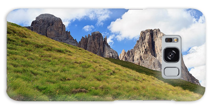 Alpine Galaxy S8 Case featuring the photograph Dolomites On Summer by Antonio Scarpi