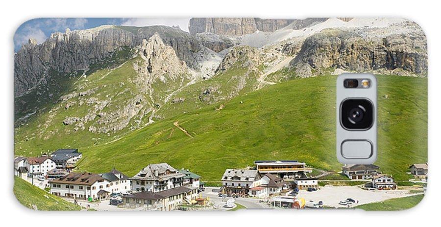 Alpine Galaxy S8 Case featuring the photograph Dolomiti - Pordoi Pass by Antonio Scarpi