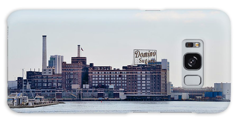 Domino Galaxy S8 Case featuring the photograph Domino Sugars - Baltimore Maryland by Bill Cannon