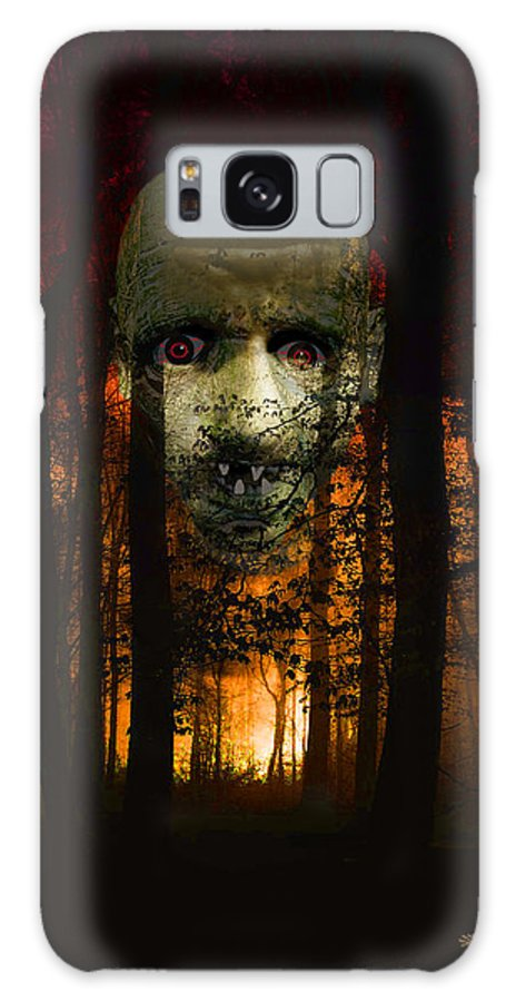 Forest Galaxy S8 Case featuring the photograph Don't Get Lost by Ericamaxine Price