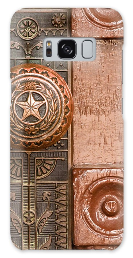Door Galaxy S8 Case featuring the photograph Door To Texas State Capital by David and Carol Kelly