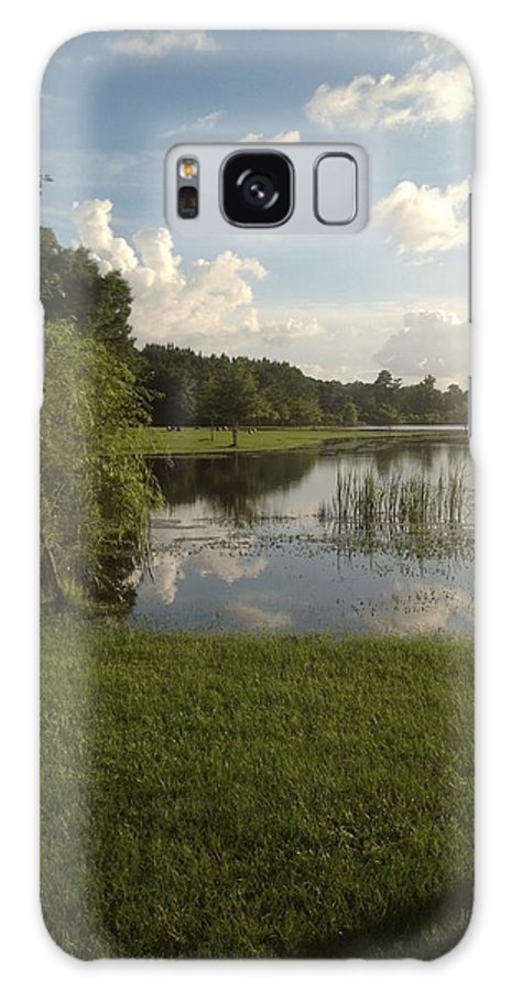Farm Galaxy S8 Case featuring the photograph Double Look At The Farm by Heath Pritchard