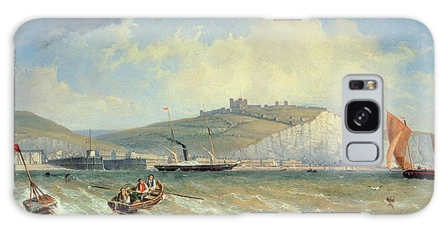 Sea Galaxy S8 Case featuring the painting Dover, 19th Century by William Henry Prior