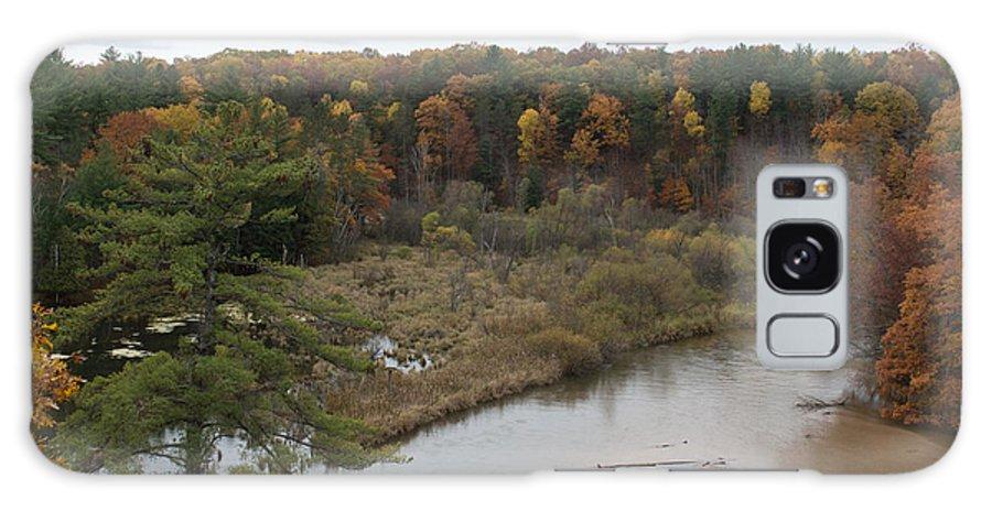River Galaxy S8 Case featuring the photograph Down Below by Linda Kerkau