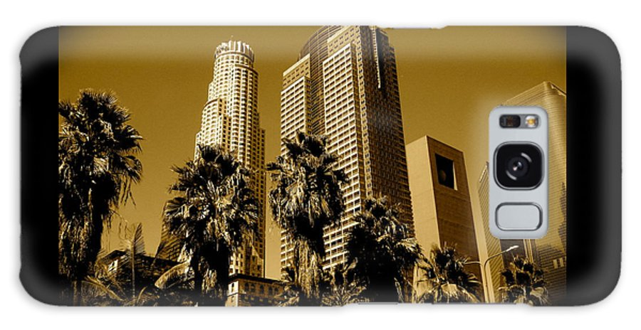 Los Angeles Prints Galaxy S8 Case featuring the photograph Downtown Los Angeles by Monique's Fine Art