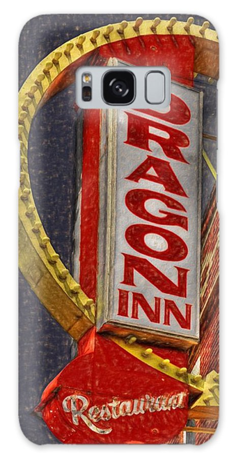 Dragon Inn Restaurant Galaxy S8 Case featuring the photograph Dragon Inn Restaurant by L Wright