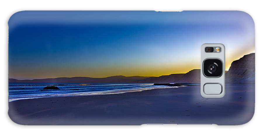 Hdr Galaxy S8 Case featuring the photograph Drake's Beach Hdr by Josh Bryant
