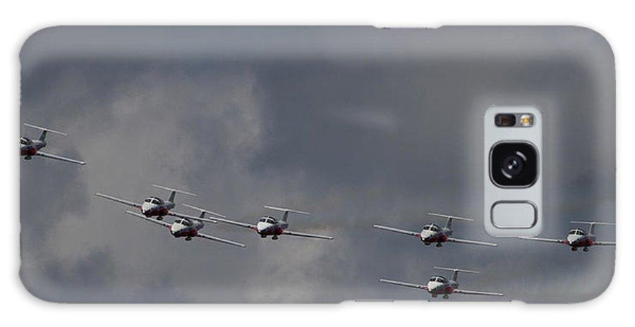 Snowbirds Galaxy S8 Case featuring the photograph Dramatic Snowbirds by Martin Brassard