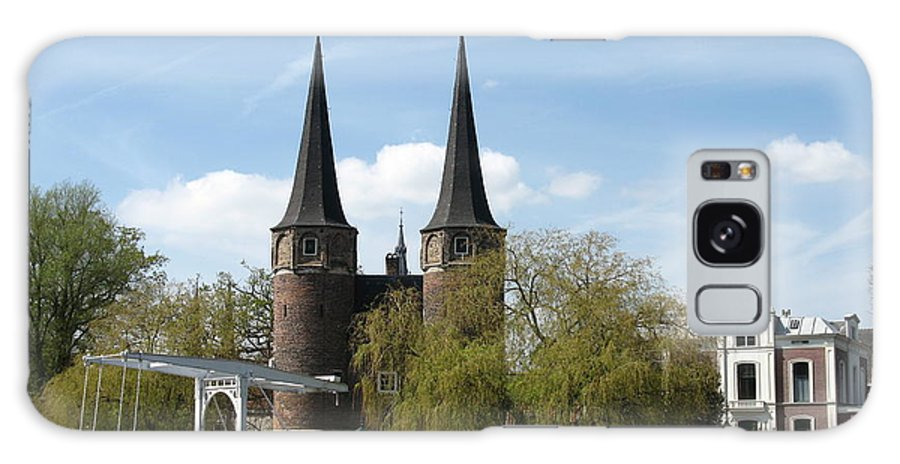 Drawbridge Galaxy S8 Case featuring the photograph Drawbridge - Delft - Netherlands by Christiane Schulze Art And Photography