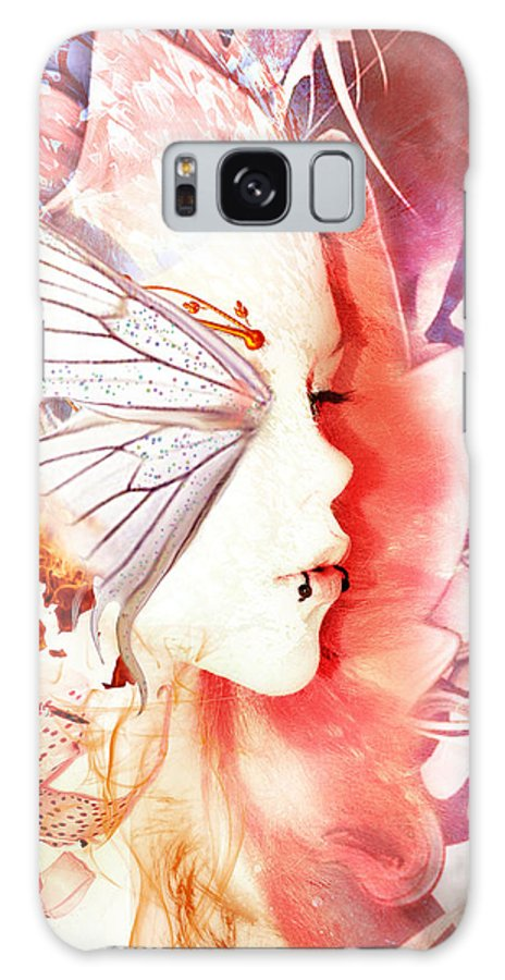 Dream Madness Galaxy S8 Case featuring the digital art Dream Madness by Lampros Kalfuntzos