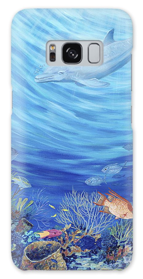 Florida Galaxy S8 Case featuring the painting Dream Reef by Danielle Perry