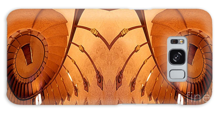 Abstract Galaxy S8 Case featuring the photograph Dream Stairs-1 by Paul W Faust - Impressions of Light
