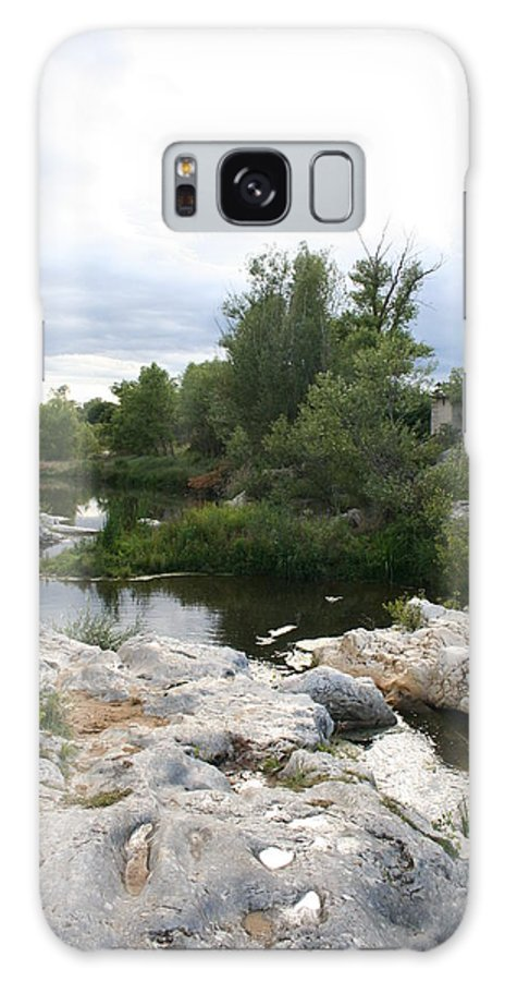 Stones Galaxy S8 Case featuring the photograph Dreamy River by Christiane Schulze Art And Photography